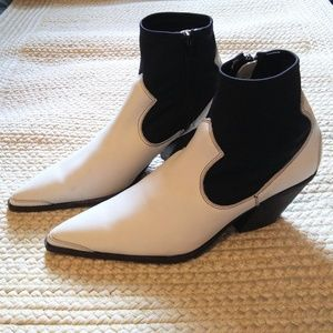 Free People Jackson West Ankle Boots Sz 40 / 10